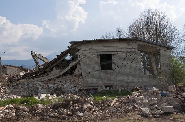 earthquake dream