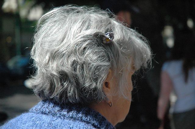 gray hair dream