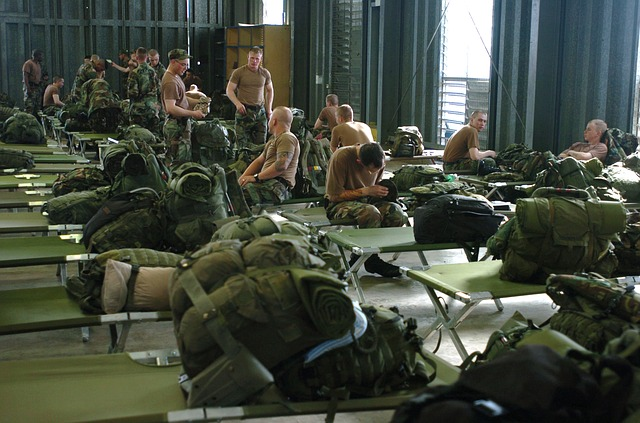 army barrack dream