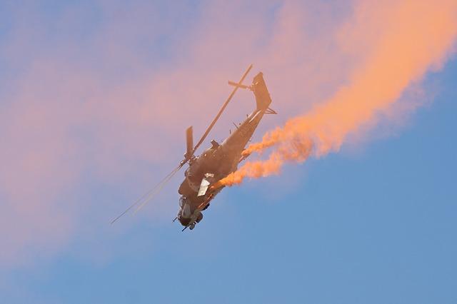 dream dictionary helicopter crash