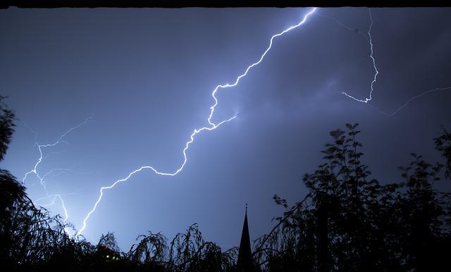 lightning dream meaning