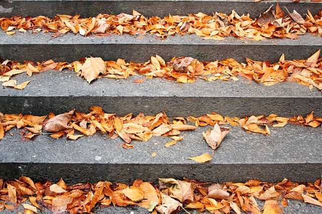spiritual meaning of falling down stairs